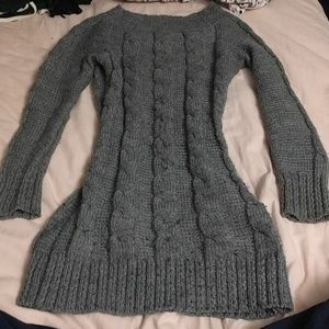 Dresses & Skirts - Cable Knit bodycon sweater dress